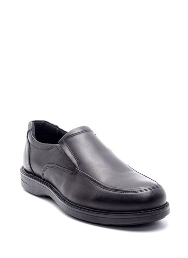 Derimod Hakiki Deri Klasik Ayakkabı Siyah